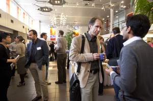 Networking at NBIC conference